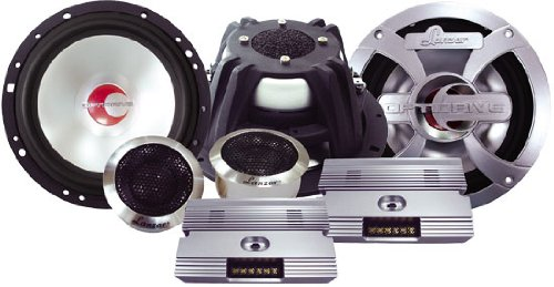 Lanzar Optidrive 400W 6.5 inch Component System