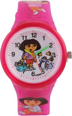 Cosmic Amazing Dora Pink Kids Watch