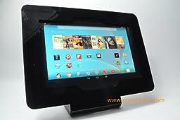 Black VESA Kit with Desktop Stand for Google Nexus 10, Samsung Galaxy Note 10.1, Samsung Galaxy Tab 10.1 1/2, Asus MeMO Pad 10