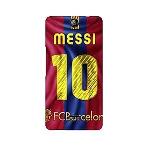 Ebby Messi Barca Premium Printed Case For Micromax Canvas Juice 3 Q392
