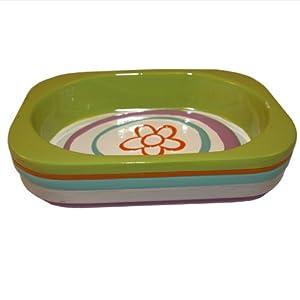 All That Jazz Soap Dish (5.25x4.25x1.25)