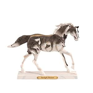 Trail of Painted Ponies Twilight Hunters Pony Figurine 6-1/4-Inch