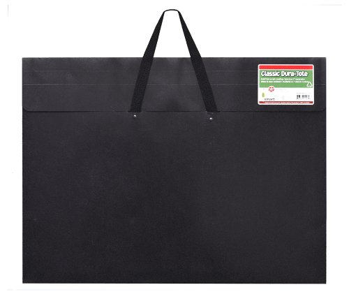 Star Products Classic Dura-Tote Artist Portfolio, 24 by 36-Inch, Black