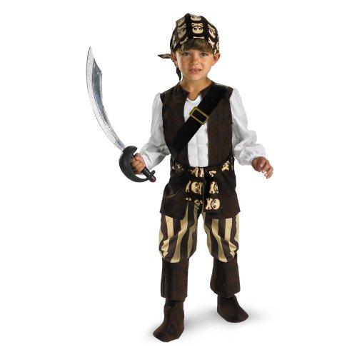 Rogue Pirate Costume - Medium (3T-4T) front-1073813