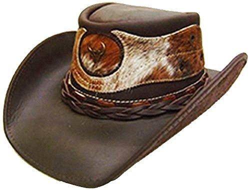 modestone-mens-leather-sombrero-vaquero-hair-on-cowhide-applique-l-brown