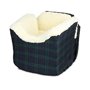 Snoozer Lookout I Pet Car Seat, Small, Blackwatch Plaid
