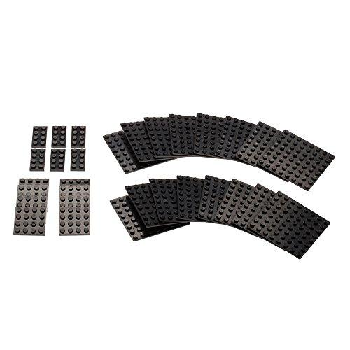 base-plate-set-for-base-ace-kit-2-black-for-mini-figures-and-building-bricks