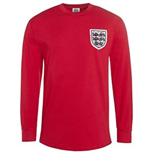 England  England 1966 World Cup Final Away Shirt - Red, Medium