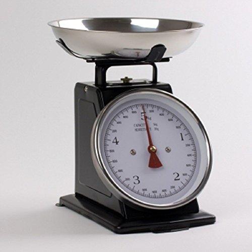 Bastide Diffusion - Balance de cuisine 5 kg couleur blanc