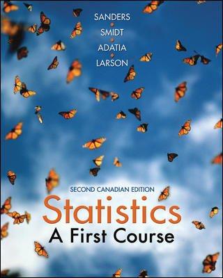 Statistics : A First Course PDF