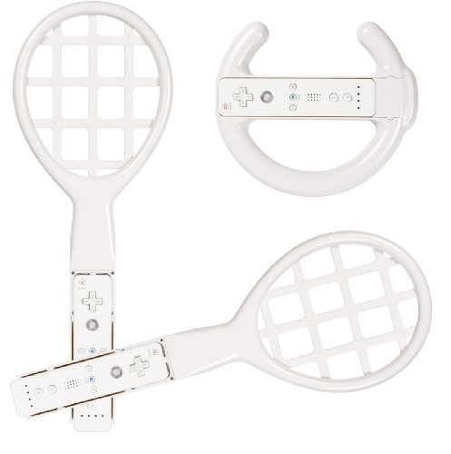 Wii Racing Tennis Set, Nintendo Wii