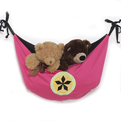 One Grace Place Magical Michayla Toy Bag, Pink, Black