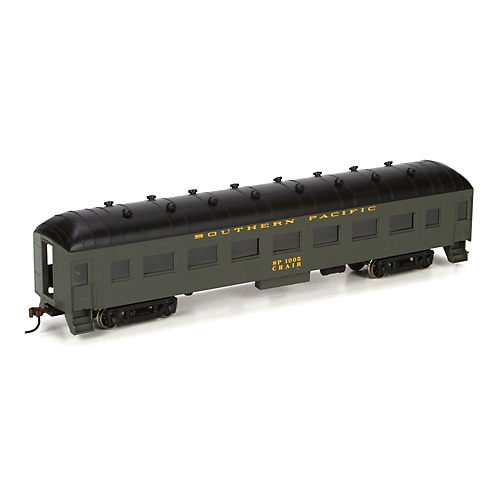 HO RTR Arch Roof Coach, SP/Green #1005