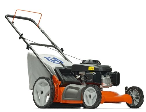 Husqvarna 6021P 21-Inch 149cc Kohler XT-6 Gas Powered 3-N-1 Push Lawn Mower With High Rear Wheels