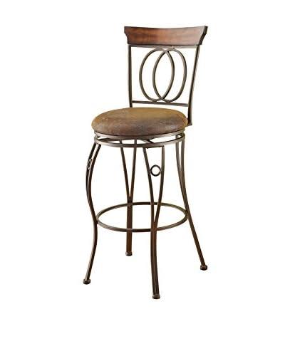 Acme Furniture Bar Chair with Swivel, Dark Bronze