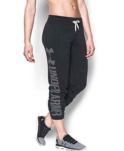 Under Armour Women's Favorite Fleece Pant, Black (001), X-Small