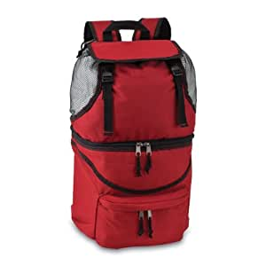 Picnic Time Zuma Insulated Cooler Backpack, Red (Discontinued by Manufacturer)