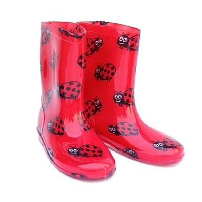 Child Boys/Girls LADYBIRD PVC Funky Fashion Wellington Boot