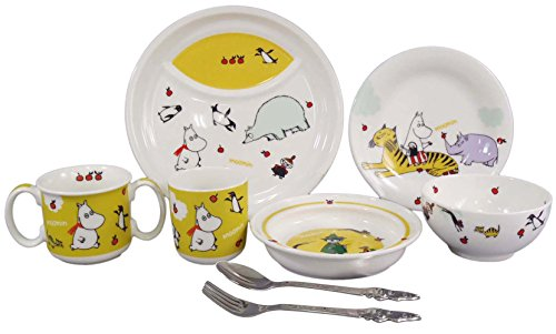 MOOMIN Moomin children tableware Dilley set MM140-303 - 1