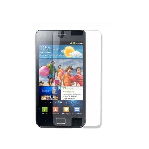 Display Schutzfolie Folie für SAMSUNG Galaxy S2 S II i9100 Klar inkl. Tuch NEU