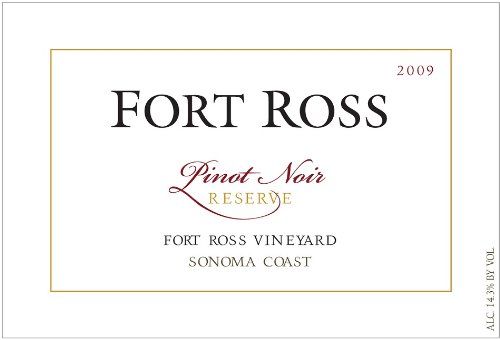 2009 Fort Ross Pinot Noir Reserve, Sonoma Coast 750 Ml