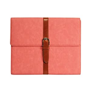 Cellet Belt Leather Case for iPad 2 - Pink