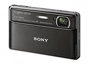 Sony Cyber-Shot DSC-TX100V 16.2 MP Exmor R CMOS Digital Still Camera with 3.5-inch OLED Touchscreen, 3D Sweep Panorama and Full HD 1080/60p Video (Black)