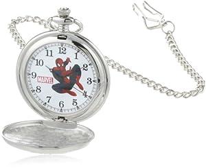 Marvel Comics Men's W000461 Spider-Man Pocket Watch