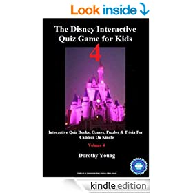 The Disney Interactive Quiz Game for Kids: Volume 4: Interactive Quiz Books, Games, Puzzles & Trivia For Children On Kindle
