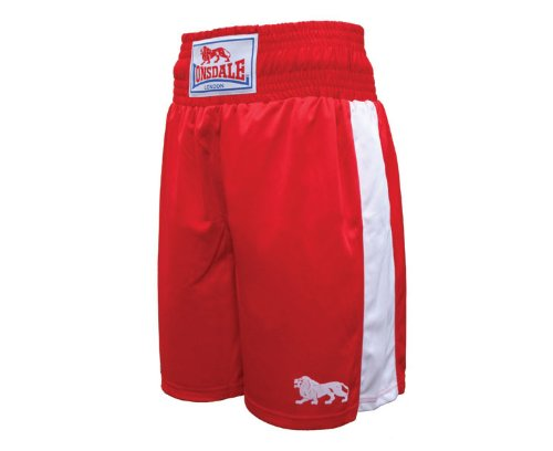 LONSDALE Club Junior Short , Red/White, Youths