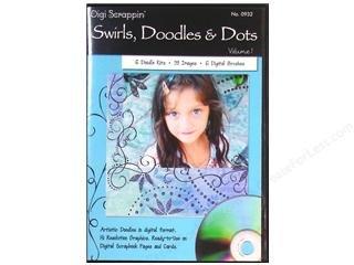 Digi Scrappin' Swirls, Doodles & Dots