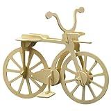 Holz-Bausatz-Fahrrad-11-tlg-20x15-cm-Steckbausatz-f-Kinder-Holzbausatz