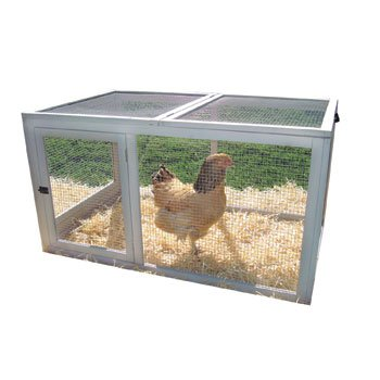 Precision Chicken Coop Backyard Barn Wire Pen 47 by 29 by 25