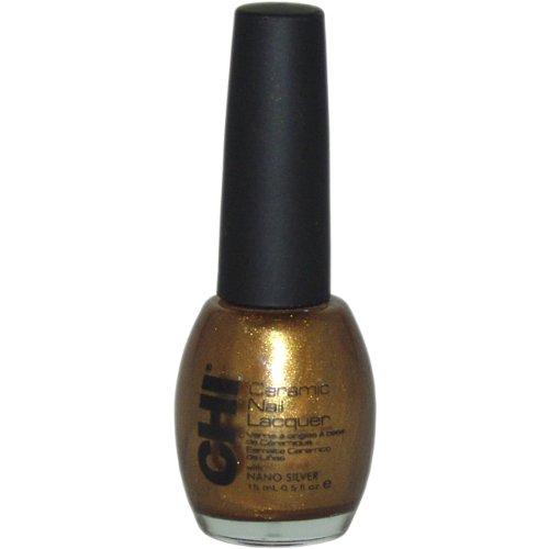 Ceramic Nail Lacquer No. Cle605 Razzle Dazzle by CHI, 0.5 Ounce