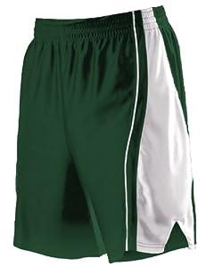 Buy Alleson 547PW Women s Dazzle Basketball Shorts DG WH - DARK GREEN WHITE WM