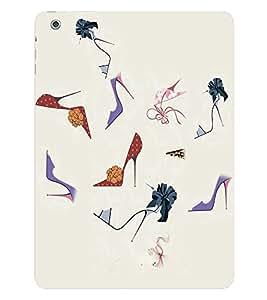 Fuson 3D Printed Designer back case cover for Apple iPad Air - D4305