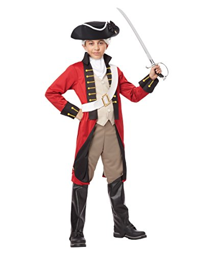 British Redcoat Boys Historical Costume