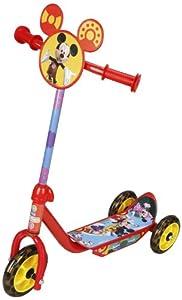 Excel Innovators Three Wheeler Scooter - Disney Mickey, Red