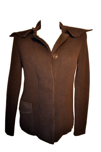AKRIS Punto Women's Sweaters Black Cardigan MSRP $1390 Size 10