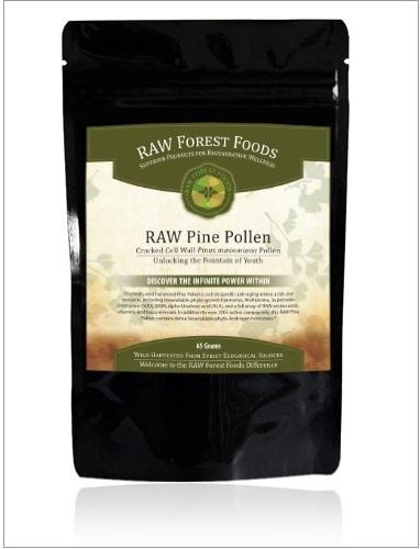Raw Forest Foods Pine Pollen Extract Powder
