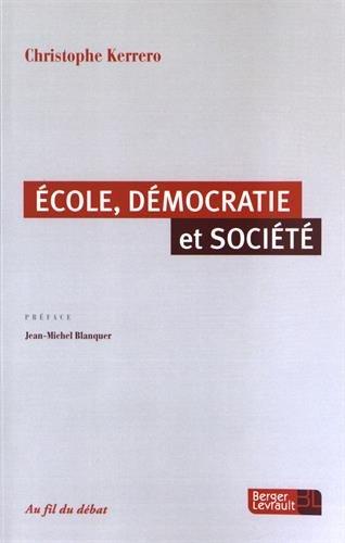 Ecole, démocratie et société