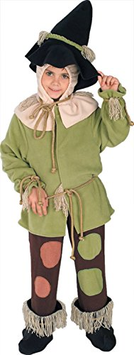 Boys Wiz Of Oz Scarecrow Kids Child Fancy Dress Party Halloween Costume
