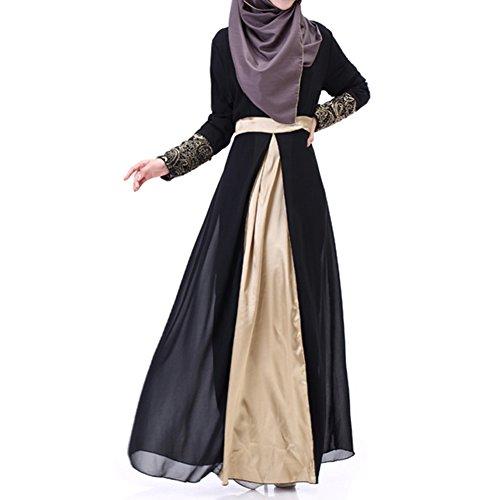 highdas-women-muslim-long-sleeve-kaftan-abaya-dress-middle-east-chiffon-splice-islamic-clothing-blac