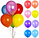 風船 加圧加工済み パール バルーン 25㎝ 6色 96個入り イベント パーティー お誕生日会 結婚式 二次会 子供会 文化祭 学際 ハロウィン クリスマス 飾り付け おもちゃ