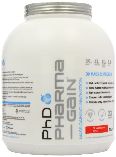 PhD Pharma Gain Strawberry Creme 2.27 kg