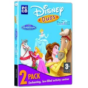 Disney Duos, 2 Pack, Including Disney's Royal Horse Show & Disney Princess II Fashion Boutique (PC CD)