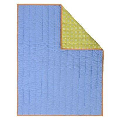 Sumersault Blue Reversible Quilt