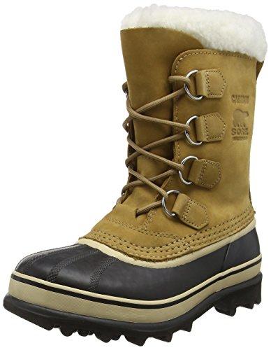 Sorel 1964 PAC 2,Stivali da neve con caldo rivestimento interno Donna, colore marrone (buff, black 280), taglia 40