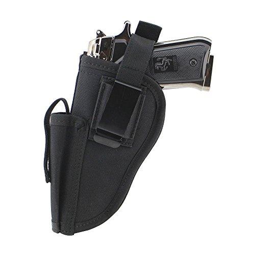 Depring Tactical Waist Pistol Holster Every Day Carry Waist Belt Handgun Holster Right Hand Left Hand Interchangeable Gun Holster with