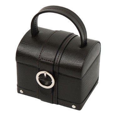 Wolf Designs 316506 St. Tropez Chocolate Mini Chest Case